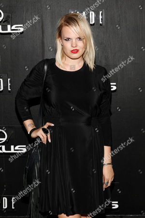 Becka Diamond is seen at Lexus Design Disrupted at Pier 36, in New York, NY