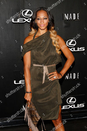Alexis Stoudemire is seen at Lexus Design Disrupted at Pier 36, in New York, NY