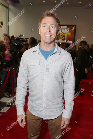 """Stock Photo of Dave England seen at Lionsgate Los Angeles Premiere of """"Natural Born Pranksters"""" at Regal L.A. LIVE, in Los Angeles"""