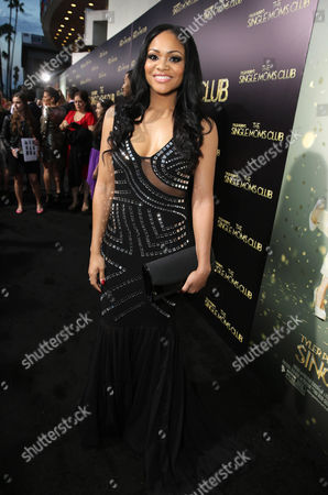 Erica Hubbard seen at The World Premiere of TYLER PERRY'S 'The Single Moms Club' presented by Lionsgate on in Los Angeles