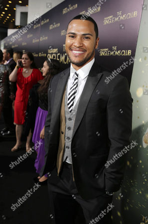 Andre Hall seen at The World Premiere of TYLER PERRY'S 'The Single Moms Club' presented by Lionsgate on in Los Angeles