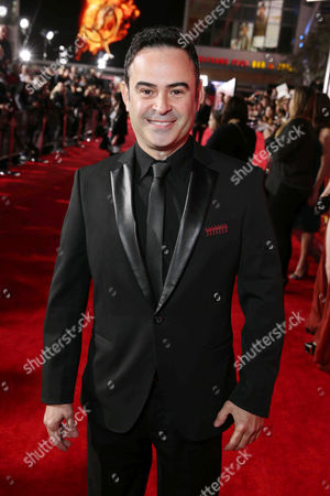 Nelson Ascencio seen at Lionsgate's 'The Hunger Games: Catching Fire' Los Angeles Premiere, on Monday, Nov, 18, 2013 in Los Angeles