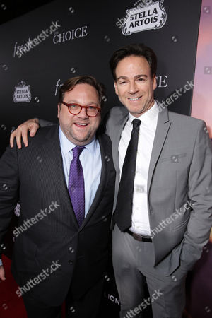 Director Ross Katz and Producer Peter Safran seen at Lionsgate's Los Angeles Special Screening of 'The Choice' at Arclight Hollywood, in Hollywood, CA
