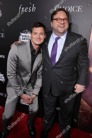 Benjamin Walker and Director Ross Katz seen at Lionsgate's Los Angeles Special Screening of 'The Choice' at Arclight Hollywood, in Hollywood, CA