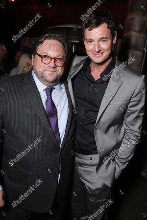 Director Ross Katz and Benjamin Walker seen at Lionsgate's Los Angeles Special Screening of 'The Choice' at Arclight Hollywood, in Hollywood, CA