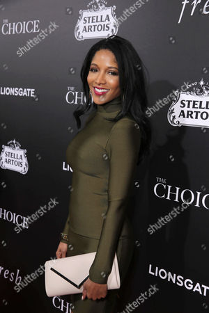 Noree Victoria seen at Lionsgate's Los Angeles Special Screening of 'The Choice' at Arclight Hollywood, in Hollywood, CA