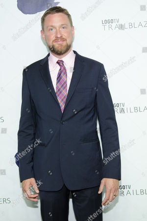 """Stock Image of Jason Marsden attends Logo TV's """"Trailblazers"""" pride event at The Cathedral of St. John the Divine on in New York"""
