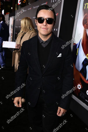 """Efren Ramirez seen at the Los Angeles Premiere of Warner Bros. Pictures' """"Focus"""" on in Hollywood"""