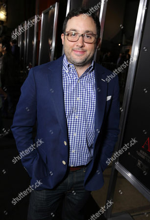 "P. J. Byrne seen at Los Angeles Special Screening of New Line Cinema's ""Annabelle"", in Hollywood"