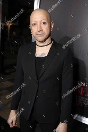 """Composer Joseph Bishara seen at the Los Angeles Special Screening of New Line Cinema's """"Annabelle"""", in Hollywood"""