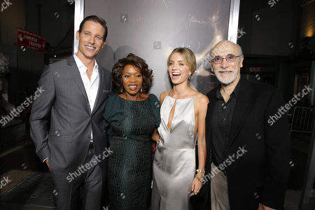 """Ward Horton, Alfre Woodard, Annabelle Wallis and Tony Amendola seen at Los Angeles Special Screening of New Line Cinema's """"Annabelle"""", in Hollywood"""