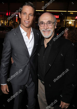 """Ward Horton and Tony Amendola seen at the Los Angeles Special Screening of New Line Cinema's """"Annabelle"""", in Hollywood"""