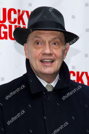 Stock Image of Eddie Hayes arrives at the Lucky Guy Opening Night, on monday, April, 01, 2013 in New York, NY