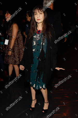 Stock Picture of Karen Erickson seen at MBFW Spring/Summer 2015 - Anna Sui at Lincoln Center on in New York