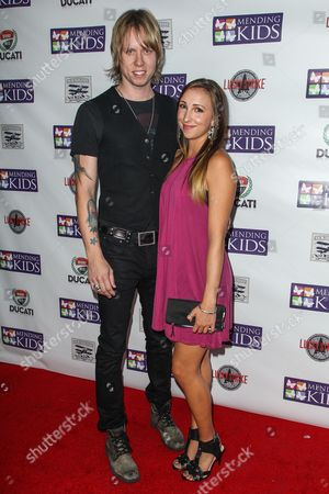 """Stock Picture of Bryce Soderberg, left, and Ashley Edner attend the """"Music On A Mission"""" benefit concert held at Lucky Strike Live - Hollywood on in Los Angeles"""