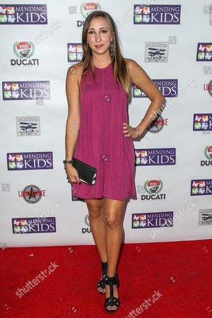 """Ashley Edner attends the """"Music On A Mission"""" benefit concert held at Lucky Strike Live - Hollywood on in Los Angeles"""