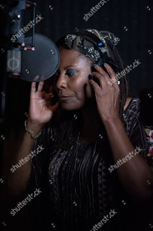 """Brenda Russell attends Reggie Benjamin's """"Mission Save Her"""" recording session, in Los Angeles"""