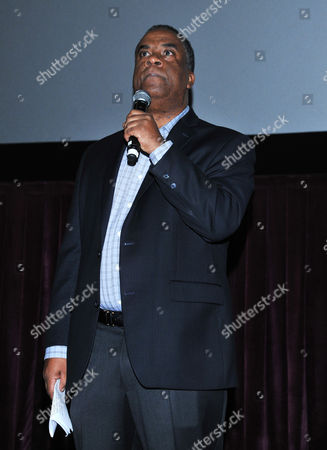 California state director of AARP George Davis speaks at AARP's Movies for Grownups Film Festival on at Regal Cinemas at L.A. LIVE in Los Angeles