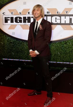 Stock Picture of Keith Harkin arrives at Muhammad Ali's Celebrity Fight Night XIX at the JW Marriott Desert Ridge Resort and Spa on in Phoenix, Ariz