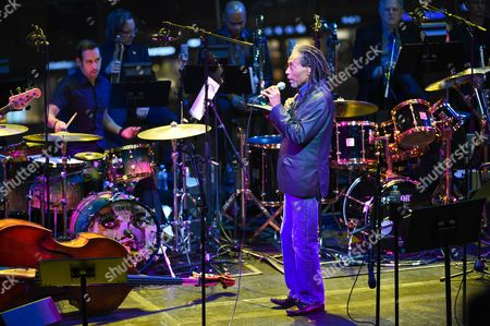 Stock Picture of Bobby McFerrin performs at the Nearness of You Concert at Jazz at Lincoln Center, in New York