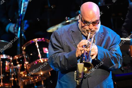 Randy Brecker performs at the 'Nearness of You' concert at Frederick P. Rose Hall, Jazz at Lincoln Center, in New York