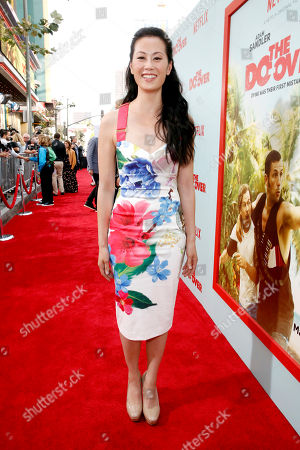 """Olivia Cheng seen at Netflix Presents """"The Do-Over"""" Los Angeles Premiere at Regal Cinemas LA Live, in Los Angeles"""