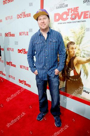 "Nick Swardson seen at Netflix Presents ""The Do-Over"" Los Angeles Premiere at Regal Cinemas LA Live, in Los Angeles"