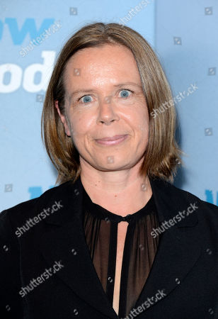 Stock Image of Jenny Downham poses at Now is Good European Premiere at The Washington Hotel on in London