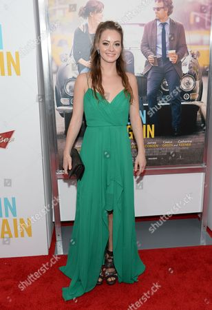 "Shannon Maree Walsh attends the premiere of ""Begin Again"" at the SVA Theatre on in New York"