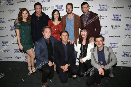 "Editorial photo of NY Premiere of ""Beside Still Waters"", New York, USA"