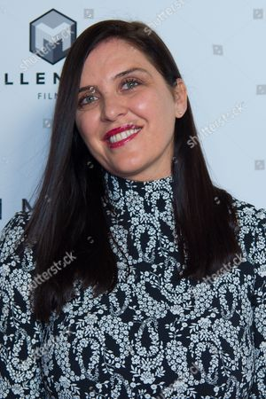 "Actress Gisella Marengo attends the premiere of ""Criminal"" at AMC Loews Lincoln Square, in New York"