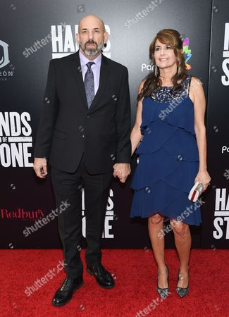 "Editorial picture of NY Premiere of ""Hands of Stone"", New York, USA"