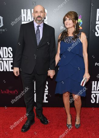 "Stock Image of Actor Robb Skyler attends the U.S. premiere of ""Hands of Stone"" at the SVA Theatre, in New York"
