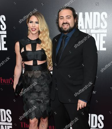 """Editorial photo of NY Premiere of """"Hands of Stone"""", New York, USA"""