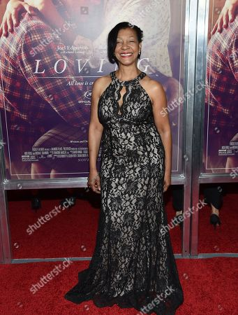"Winter-Lee Holland attends the premiere of ""Loving"" at the Landmark Sunshine Cinema, in New York"