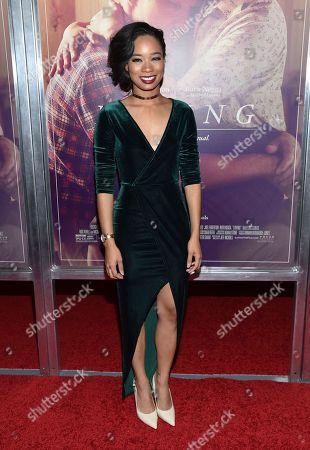 "Terri Abney attends the premiere of ""Loving"" at the Landmark Sunshine Cinema, in New York"