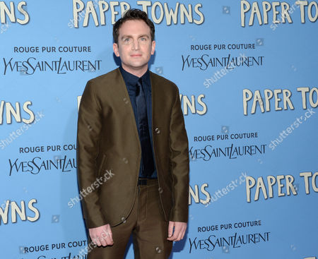 """Jake Schreier attends the premiere of """"Paper Towns"""" at AMC Loews Lincoln Square, in New York"""