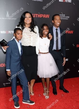 """Editorial picture of NY Premiere of """"Southpaw"""", New York, USA"""