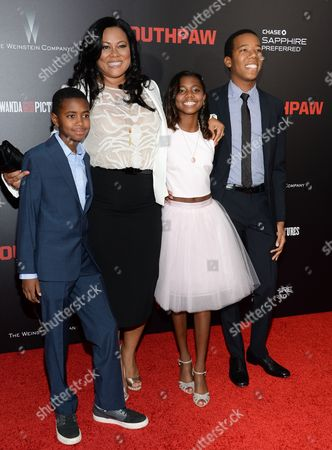 """Editorial image of NY Premiere of """"Southpaw"""", New York, USA"""