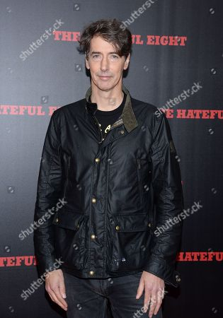 """Artist Richard Phillips attends the premiere of """"The Hateful Eight"""" at the Ziegfeld Theatre, in New York"""