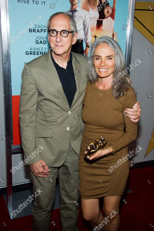 """Michael Shamberg and Carla Santos Shamberg attend the premiere of """"Wish I Was Here"""" on in New York"""