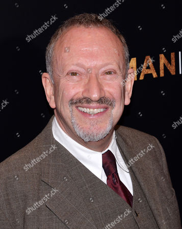 """Stock Photo of Actor Allan Corduner attends the premiere of """"Woman In Gold"""" at The Museum of Modern Art, in New York"""