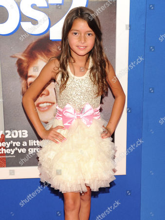 "Actress Alexys Nycole Sanchez attends the premiere of ""Grown Ups 2"" at the AMC Loews Lincoln Square on in New York"