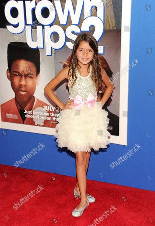 "Stock Picture of Actress Alexys Nycole Sanchez attends the premiere of ""Grown Ups 2"" at the AMC Loews Lincoln Square on in New York"