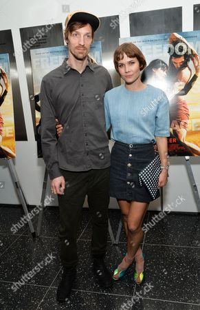 """Nanna Oland Fabricius aka Oh Land and guest attend a special screening of """"Desert Dancer"""", hosted by The Cinema Society, at The Museum of Modern Art, in New York"""