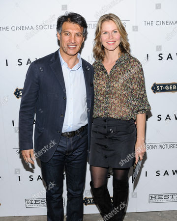 """Frederic Fekkai attends a special screening of """"I Saw The Light"""" at Metrograph, in New York"""