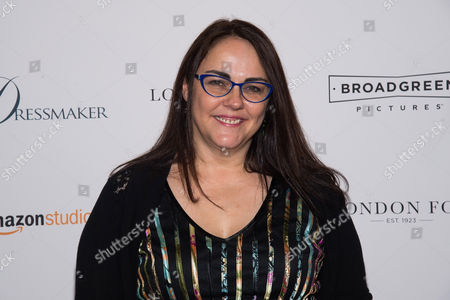"Jocelyn Moorhouse attends a screening of ""The Dressmaker"" at Florence Gould Hall Theater, in New York"