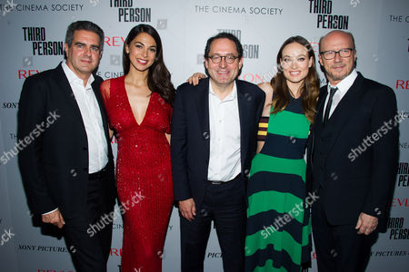 """Editorial image of NY Special Screening of """"Third Person"""", New York, USA"""