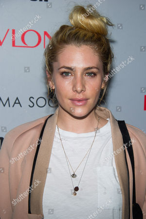 """Casey LaBow attends a screening of """"Third Person"""" hosted by the Cinema Society and Revlon on in New York"""