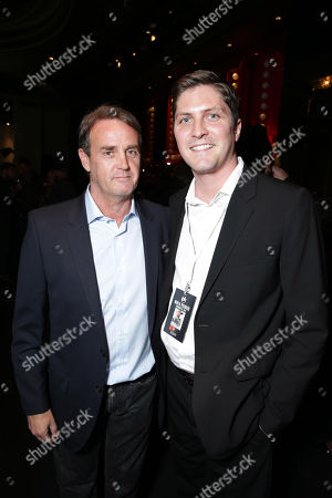 Producer Kevin King Templeton and Open Road's Ben Cotner seen at Open Road 'Homefront' Premiere, on in Las Vegas